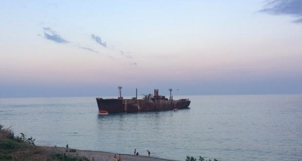 Epava navei Evangelia Costinesti - 2017