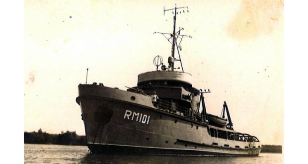 """Remorcherul maritim militar """"101"""""""