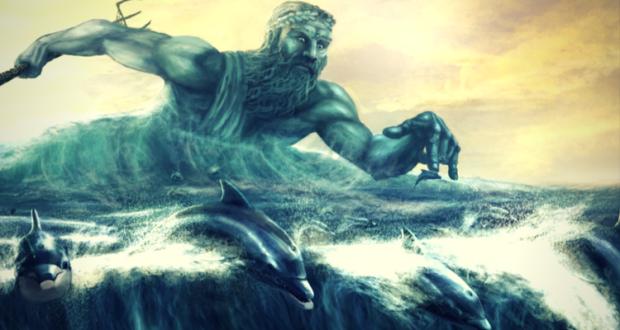 Poseidon - Zeul Mării, fiul lui Cronos și al Rheei