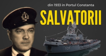 SALVATORII DE NAVE ŞI SUFLETE. O pagină din eroica epopee a marinarilor salvatori români
