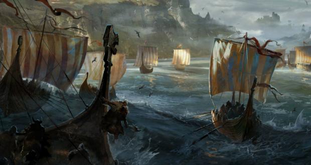 Vikingii pregătiți de atac