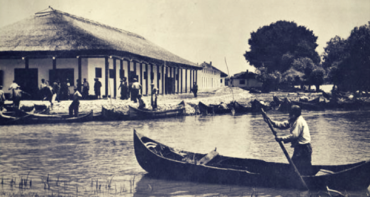 "Delta Dunării - punctul piscicol ""Mila 23"""