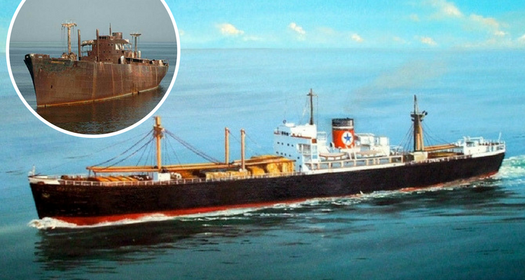 """Nava cargo """"EVANGELIA"""" - Costinesti"""