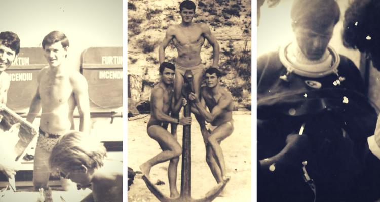 Gheorghe Oancea în tinerețe - imagini din arhiva familiei