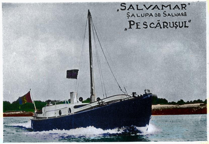 """Șalupa de salvare """"PESCĂRUȘUL"""""""