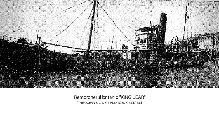 Remorcherul britanic KING LEARpng