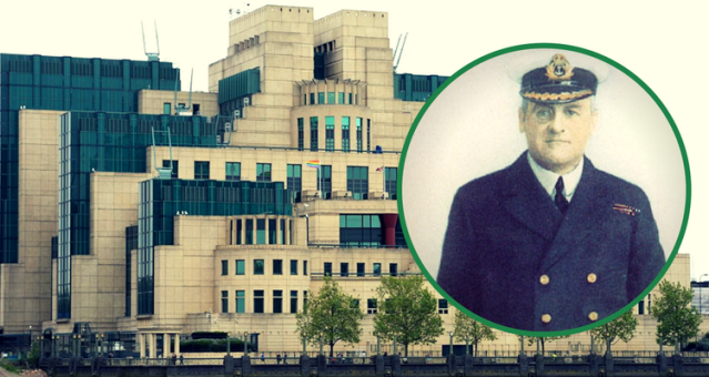 Sediul MI6 Londra și Sir Mansfield George Smith Cumming