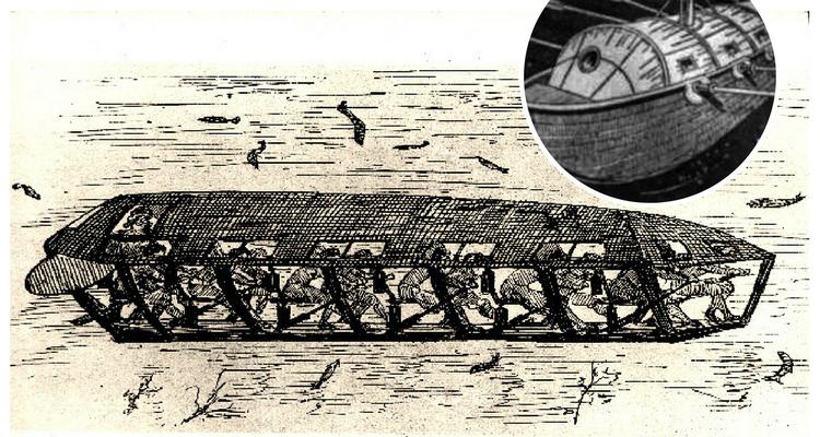 Submarinul lui Cornelis Jacobszoon Drebbel