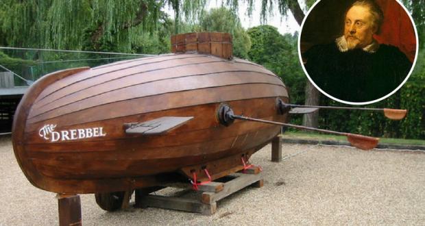 Submarinul lui Drebbel - Muzeul Marinei UK