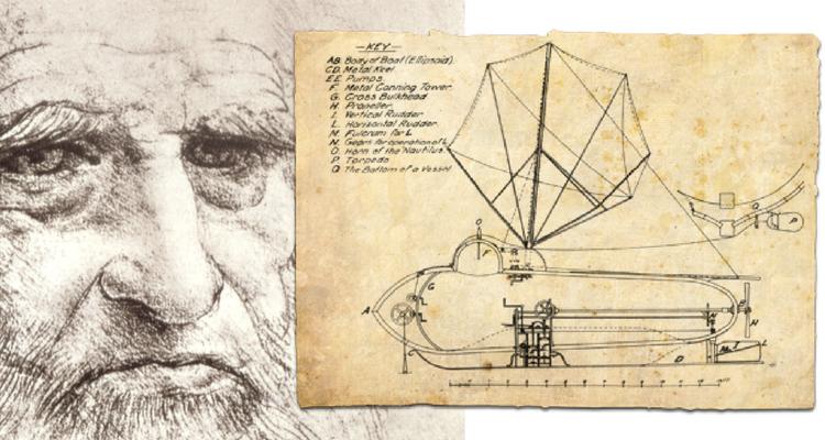 """Nautilus"" - submarinul lui Leonardo Da Vinci"