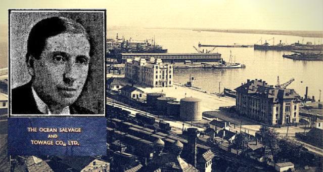 "John Emlyn-Jones - ""THE OCEAN SALVAGE AND TOWAGE Co"" Ltd."
