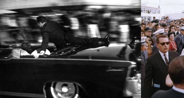 Agentul Clint Hill urcat pe limuzina prezidenţială