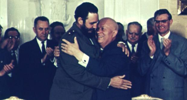 Fidel Castro si Nikita Hrușciovpng