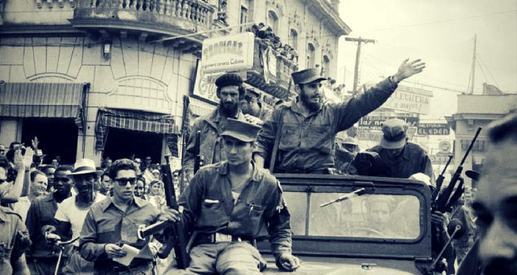 Intrarea lui Fidel Castro in Havana - Ianuarie 1959