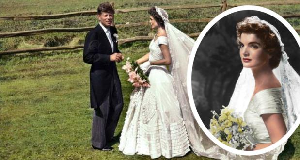 John Kennedy și Jacqueline Lee Bouvier - 1953