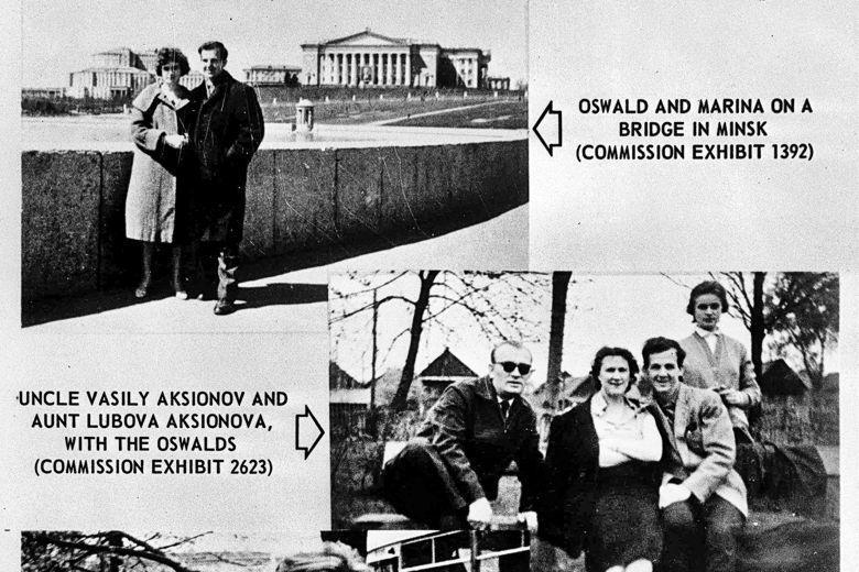 Lee Harvey Oswald in Minsk - Comisia Warren - 1964