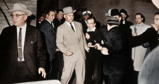 Momentul in care Rubi l-a impuscat pe Oswald