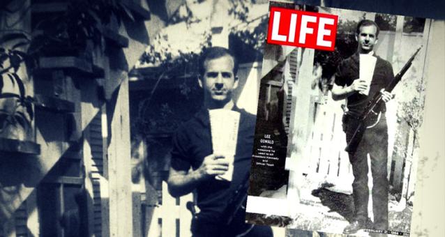 Oswald pe coperta revistei LIFE