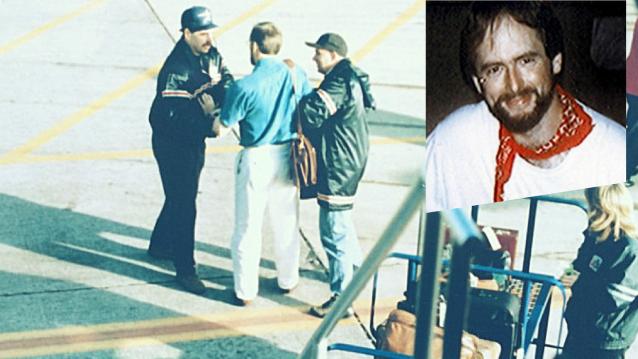 Harold James Nicholson reținut pe aeroport de către FBI