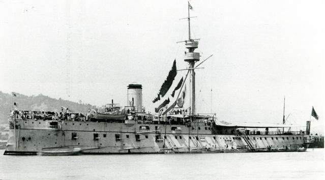 Nava japoneză Matsushima - 1896