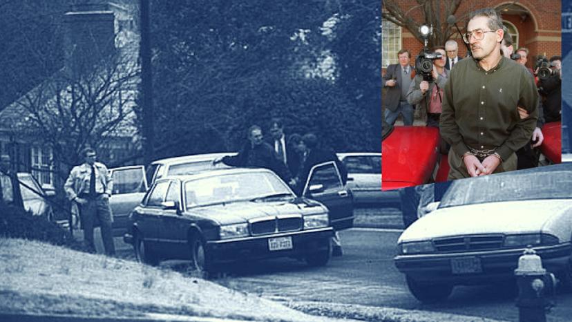 Momentul reținerii lui Aldrich Hazen Ames de către agenții FBIs