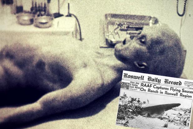 Presupusul corp umanoid de la Roswell