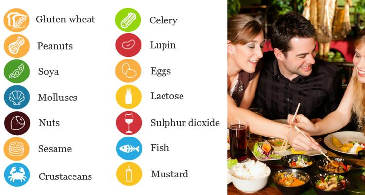 Alergenii in bucataria restaurantelor