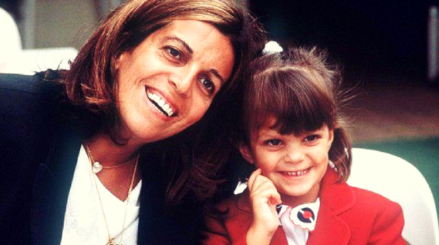 1988 - Christina Onassis și fiica sa Athina
