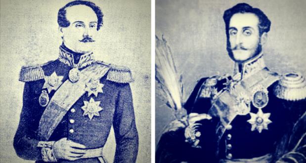 Alexandru Ghica si Mihail Sturdza