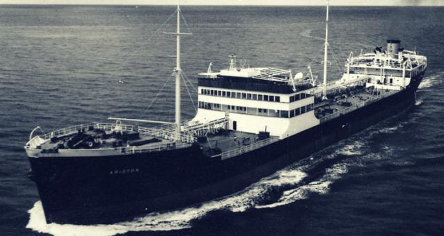 ARISTON primul petrolier din flota lui Aristotel Onassis