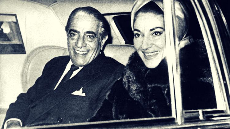 Aristotel Onassis și Maria Callas