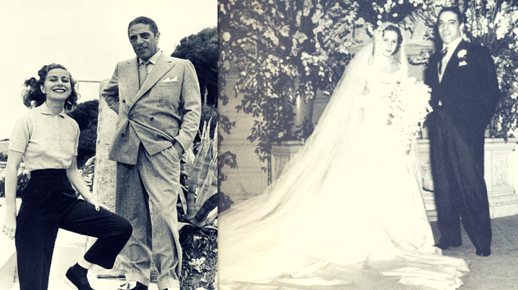 Aristotel Onassis si Tina Livanos