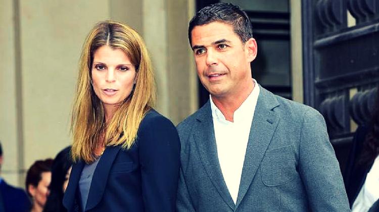 Athina alături de soțul ei Álvaro de Miranda