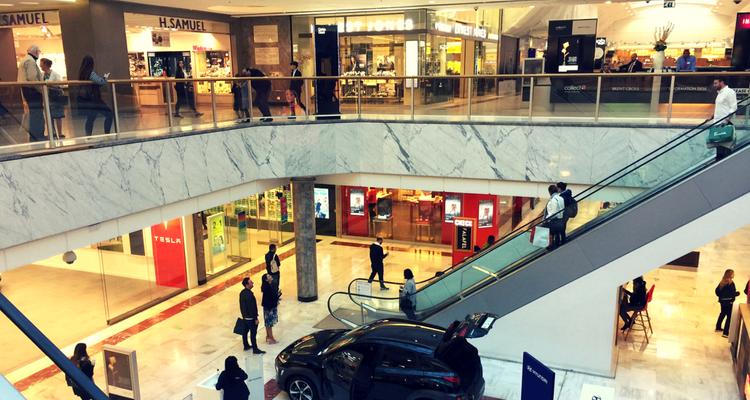 Brent Cross Center - 2018 interior
