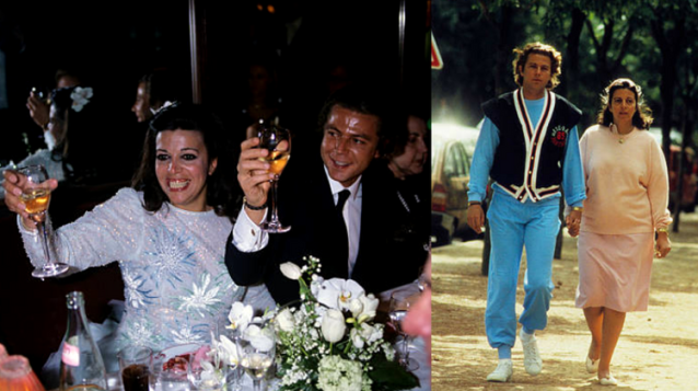 Christina Onassis și Thierry Roussel