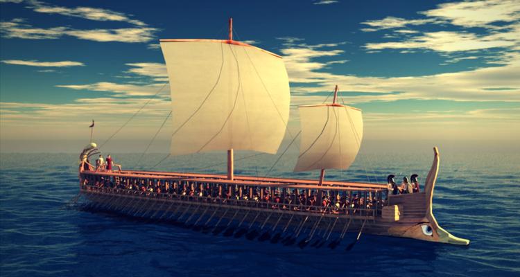 nava greceasca