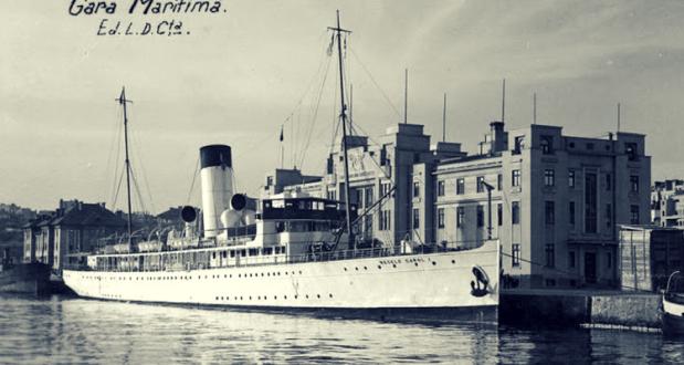 Nava REGELE CAROL - gara maritima Constanta