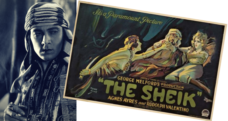 Rudolph Valentino in The Sheik