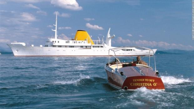 "Super yacht-ul ""Christina O."""