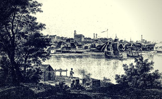 Portul Galați - 1826