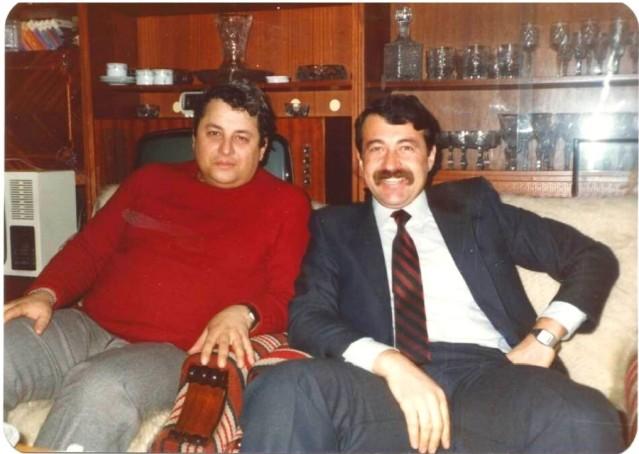 CLC Corneliu Mironescu alături de CLC Corneliu Idu (anii '80)
